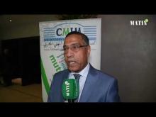 Embedded thumbnail for déclaration de miloudi moukharik sg de l'union marocaine du travail UMT